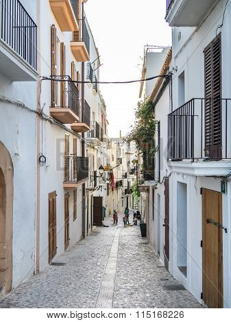 Cozy Ibiza Streets