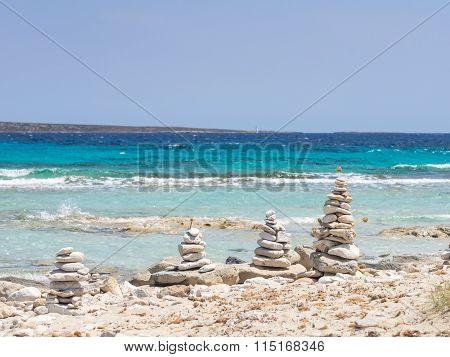 Art On The Ses Illetes Beach