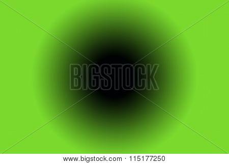blackhole in green background