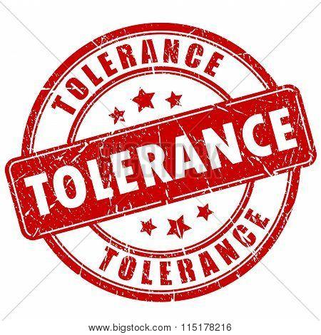 Tolerance stamp