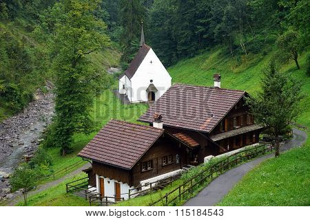 Church And Pilgrim's Hostel