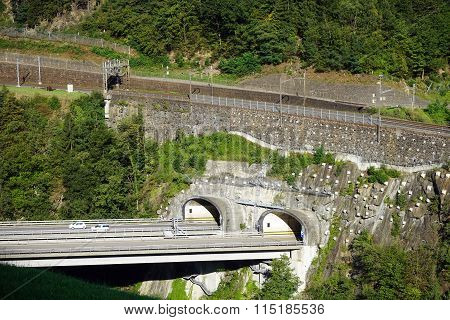 Highway And Railway