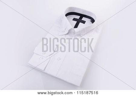 Dress Shirt On White Background