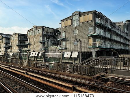 Buildings Of The Gruner + Jahr Publishing In Hamburg, Germany Fr