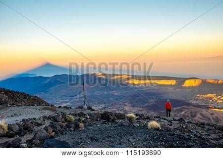 Beautiful Volcanic landscape