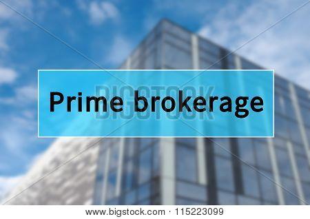 Prime brokerage