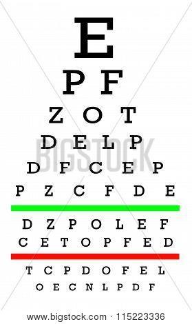 Eyesight Concept - Good Eyesight