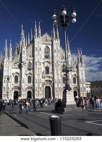 Editorial Duomo Milan Italy