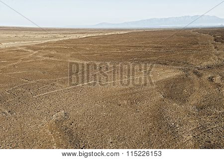 air view at the famous Nasca Lines inSouth America