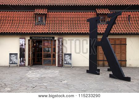 Museum Of Franz Kafka, Prague, Czech Republic