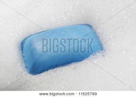 Blue Soap Bar