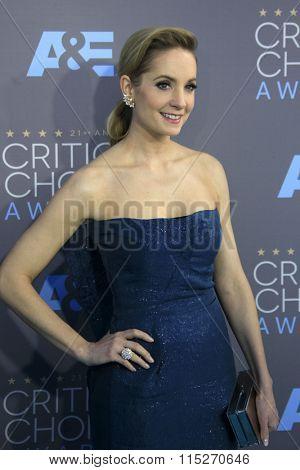 LOS ANGELES - JAN 17:  Joanne Froggatt at the 21st Annual Critics Choice Awards at the Barker Hanger on January 17, 2016 in Santa Monica, CA