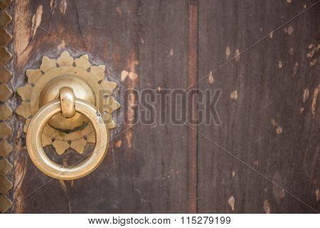 Iron Doorknocker Ring