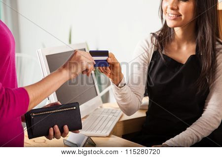 We Take All Credit Cards At The Store