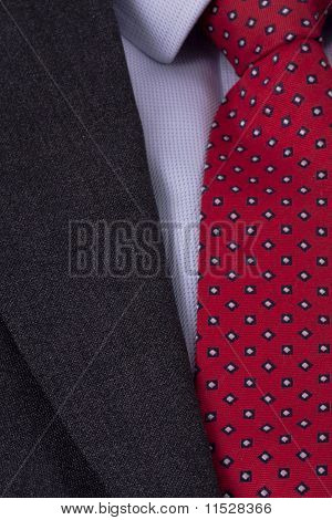 Business Suit Close Up
