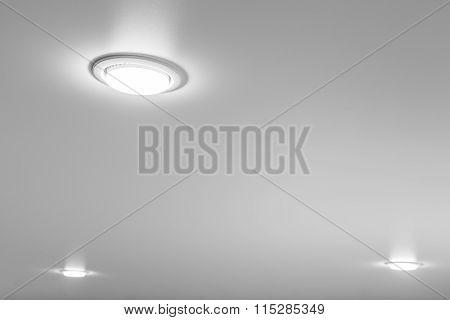 Ceiling Light Closeup