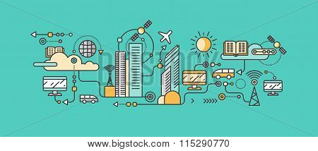 Smart Technology in Infrastructure of the City