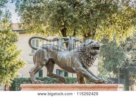 Monument Mythological Bronze Etruscan