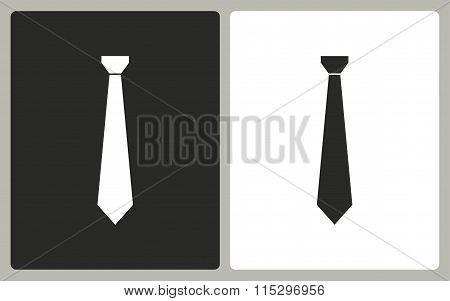Necktie - Vector Icon.