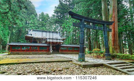 Okariden - Temporary Shrine at Nikko World Heritage Site in Nikko Tochigi Japan