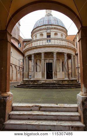 San Pietro in Montorio church in Rome, Italy