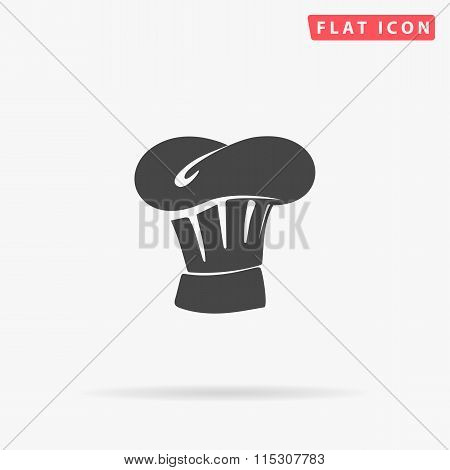 Chef cap simple flat icon