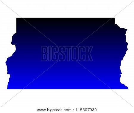 Map Of Distrito Federal Do Brasil
