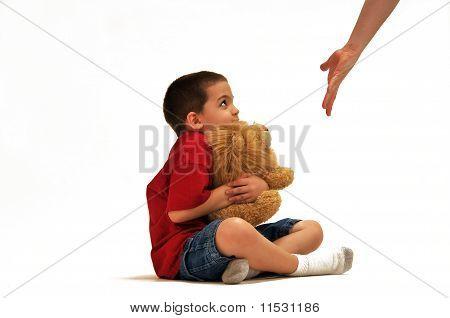 Boy in trouble