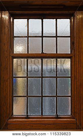 Beautiful Solid Oak Sliding Sash Window