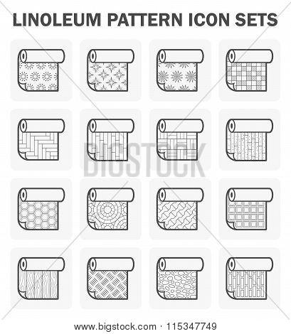 Linoleum Vector Icon