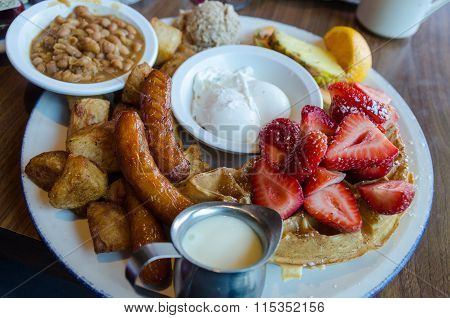 Typical Canadian / American Brunch