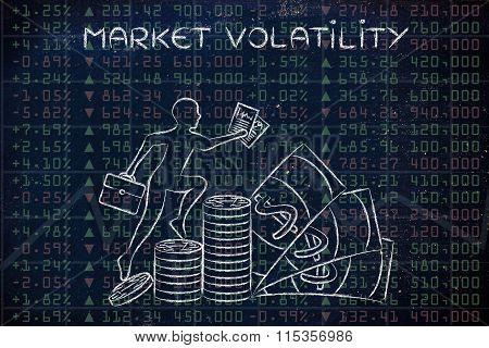 Market Volatility: Performance Results With Trader Climbing Profits