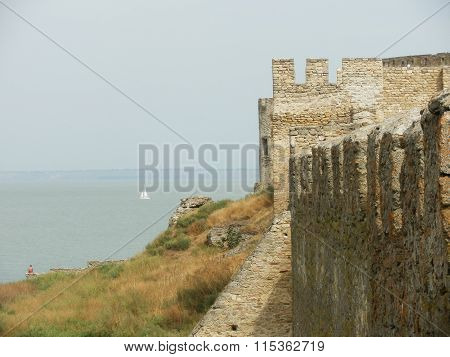 Akkerman fortress wall