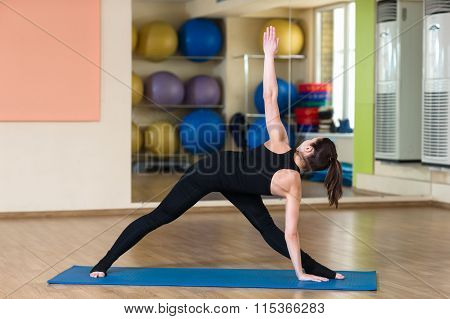 Yoga Parivrtta Trikonasana, Revolved Triangle Pose