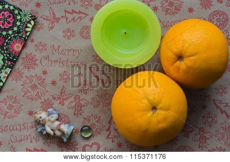 Oranges On The Table