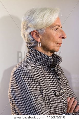 Managing Director Of The International Monetary Fund, Christine Lagarde