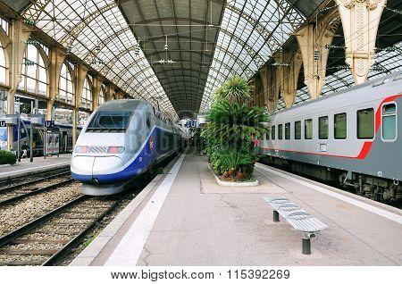 Nice Railway Station.