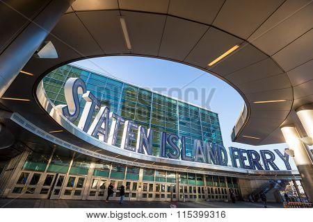 Staten Island Ferry Building