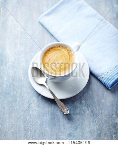 A cup of caffe crema
