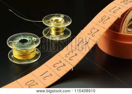 Tape Measure With Spool