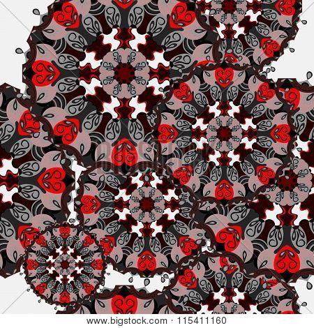 Mandala. Vintage Decorative Elements. Seamless Pattern