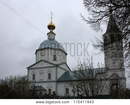 The temple in honour St Nikolas in the village Canino