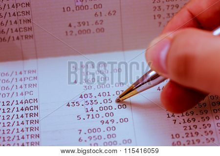 Verify The Monthly Bank Statement