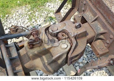 Train Car Hook Coupler
