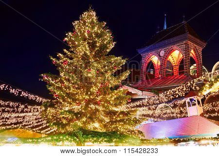 Christmas Market In Lubeck
