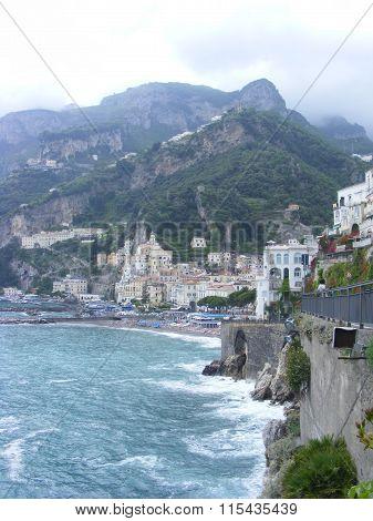 Seaside hotels on the Amalfi coast from Italy