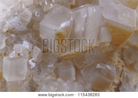 White Calcite Mineral