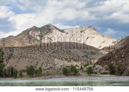 Mountain Rivers Chuya And Katun, Altai, Russia