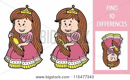 Find differences princess