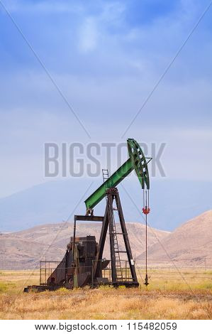 Oil pump in California, United States of America